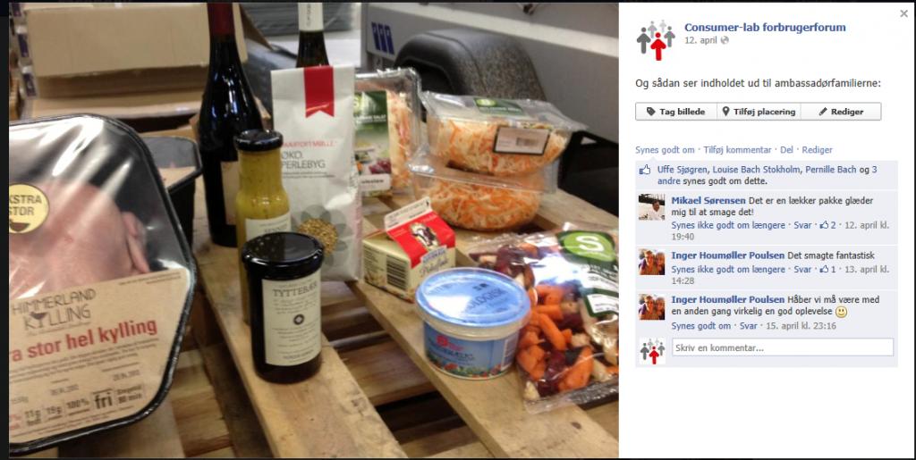 Kampagnen på Consumer-labs Facebook